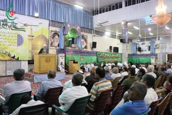 إحياء ذكرى ولادة الإمام الرضا (ع) في مصلى مقام السيدة زينب (ع)
