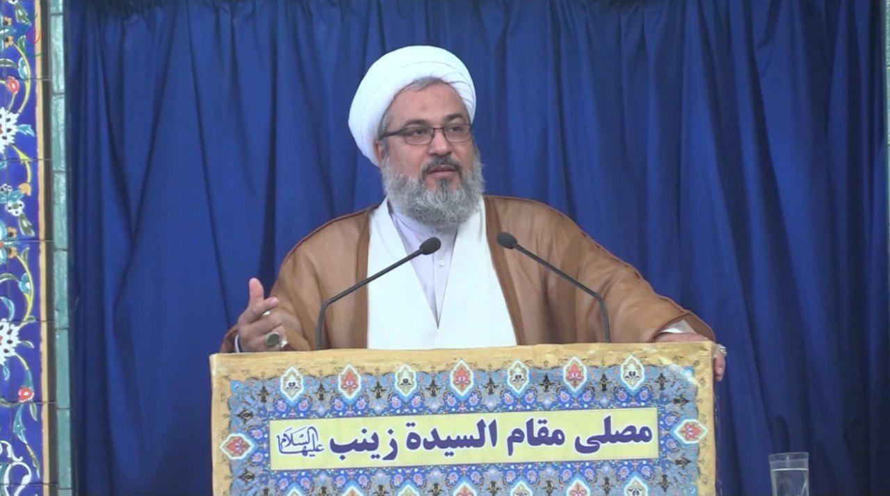 خطبة الجمعة لسماحة الشيخ الأستاذ الدكتور حيدر نور الدين في مقام السيدة زينب عليها السلام