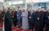 الرئيس الأسد يؤدي صلاة عيد الأضحى المبارك في رحاب جامع الأفرم بدمشق