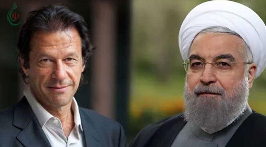 الرئيس حسن روحاني لعمران خان : لا حل عسكرياً لقضية كشمير