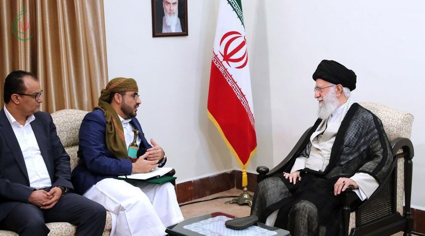 قائد الثورة يشيد بصمود الشعب اليمني في مواجهة العدوان