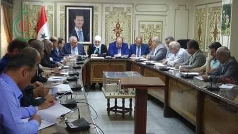 وزير الاقتصاد : مشاريع تنموية وخدمية باتت قيد العمل في محافظة درعا