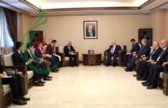 وزير الخارجية السوري يلتقي المبعوث الصيني الخاص إلى سورية ويبحث العلاقات الثنائية بين البلدين الصديقين والتطورات السياسية والميدانية في سورية