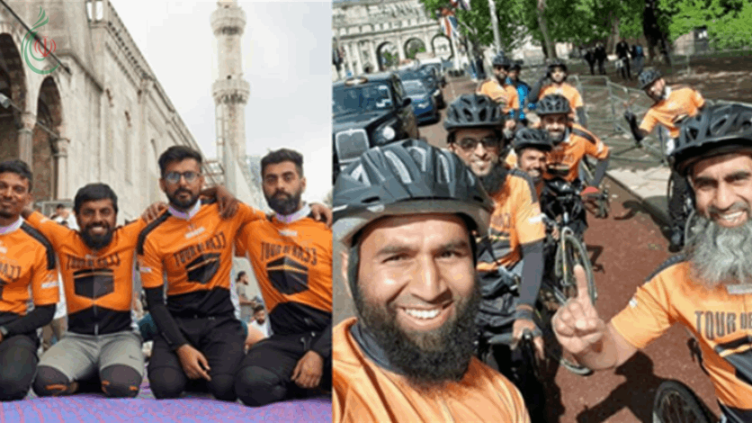 من لندن إلى مكة .. رحلة الحج بالدراجة