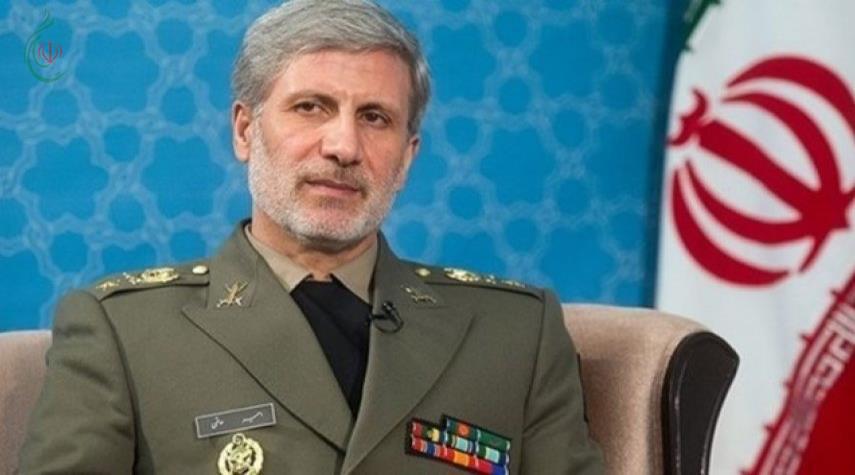 وزير الدفاع الإيراني : نجند كافة الوسائل المشروعة للدفاع عن حقناً