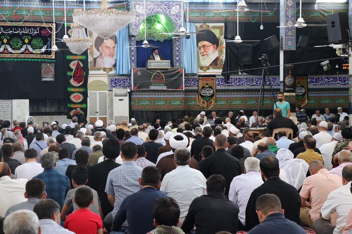 خطبة وصلاة الجمعة بإمامة سماحة آية الله السيد أبو الفضل الطباطبائي الأشكذري