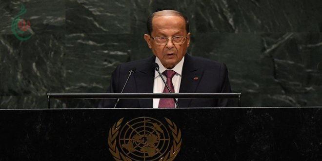 الرئيس عون يجدد التأكيد على تسهيل عودة المهجرين السوريين لوطنهم