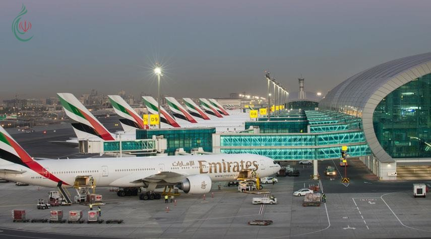 طائرة مسيرة تعطل رحلات بمطار دبي