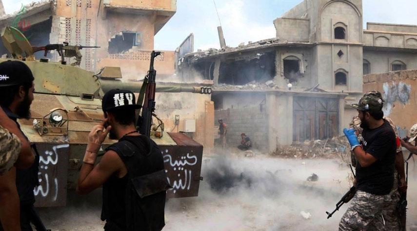اشتباكات جنوبي طرابلس بعد ساعات من الهدوء الحذر