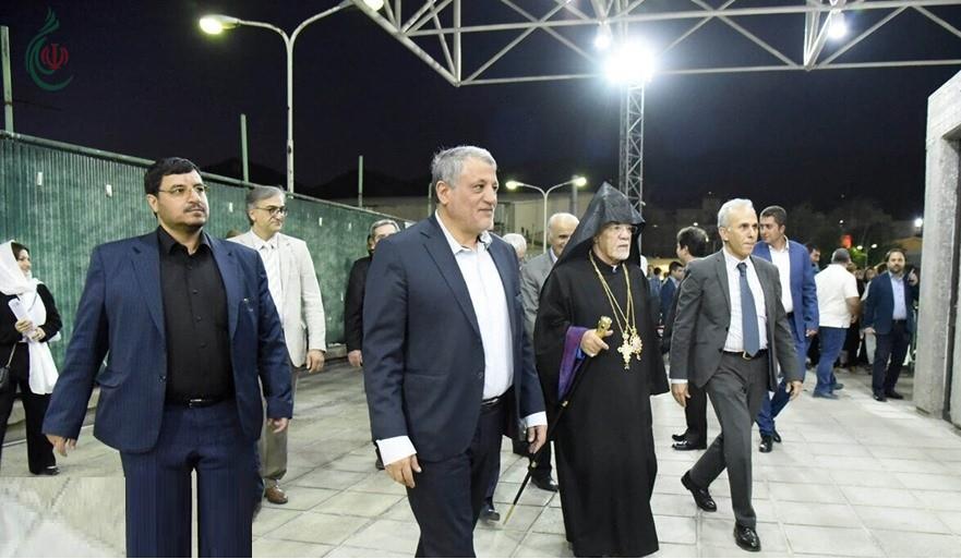 صور لإطلاق الألعاب الأولمبية للأرمن في ايران