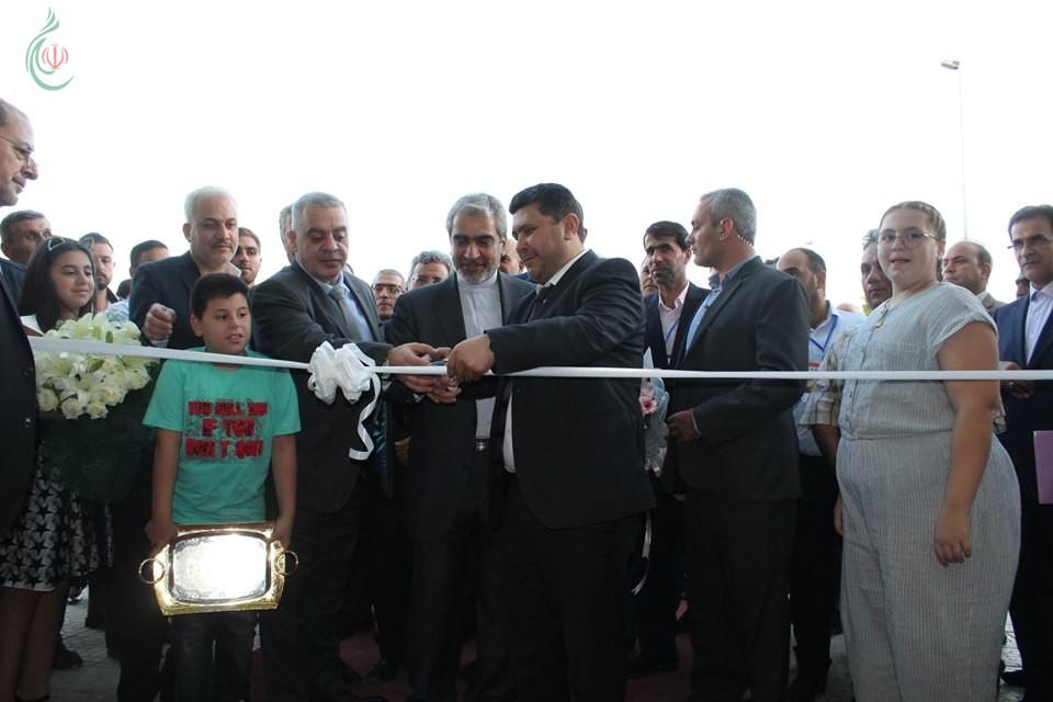 بمشاركة السفير الإيراني بدمشق إطلاق فعاليات معرض إعادة إعمار سورية