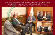 سعادة السفير جواد تركآبادي .. يهنئ السوريين والحزب بالانتصار ويؤكد بأن إيران ستستمر في تقديم الدعم إلى سورية وستساهم في عملية البناء وإعادة الاعمار