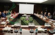 من طهران اردكانيان و خربوطلي يبحثان أفاق التعاون الاستراتيجي بمجال القطاع الكهربائي و تعزيز التعاون الاستراتيجي بين البلدين