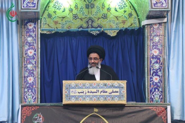خطبة وصلاة الجمعة لسماحة آية الله السيد أبو الفضل الطباطبائي الأشكذري في مصلى السيدة زينب (ع) 5 صفر 1441هـ
