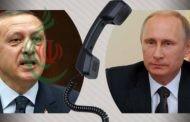 بوتين وأردوغان يبحثان في مكالمة هاتفية ضمان سلامة الأراضي السورية