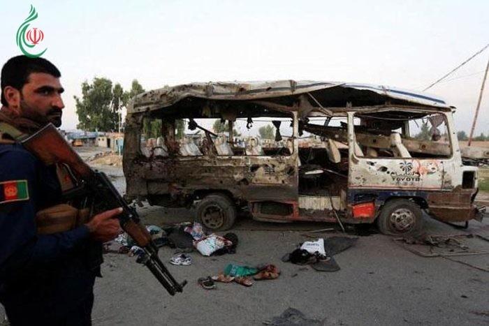 مقتل شرطيين أثنين وجرح 20 طفلاً اثر انفجار في أفغانستان
