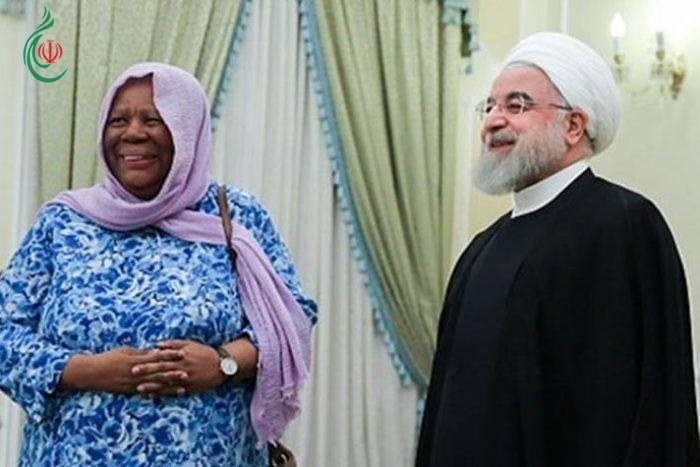 وزيرة خارجية جنوب افریقیا : على أميركا العودة إلى الاتفاق النووي