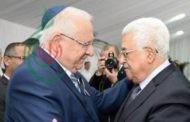 محمود عباس : يهنئ الرئيس الصهيوني رؤوفين ريفلين برأس السنة العبرية