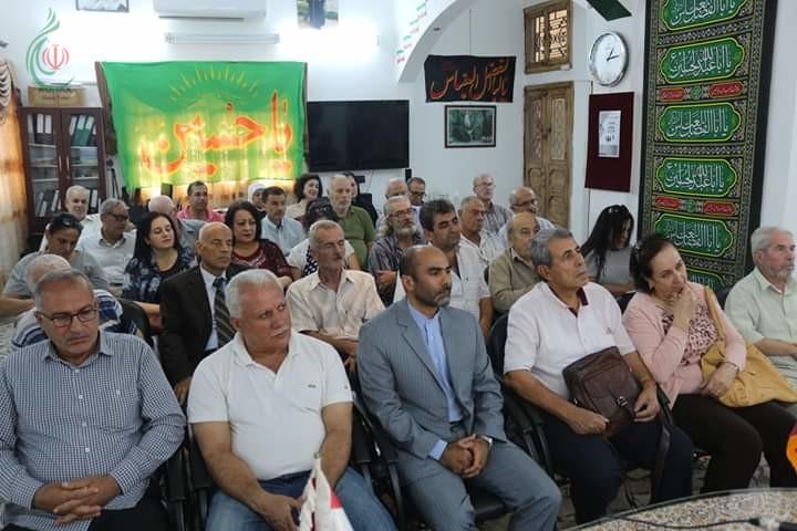 المركز الثقافي الإيراني في اللاذقية يقيم ندوة حول ( الأدب الفارسي وأثره على الأدب العربي - شعراً و نثراً )
