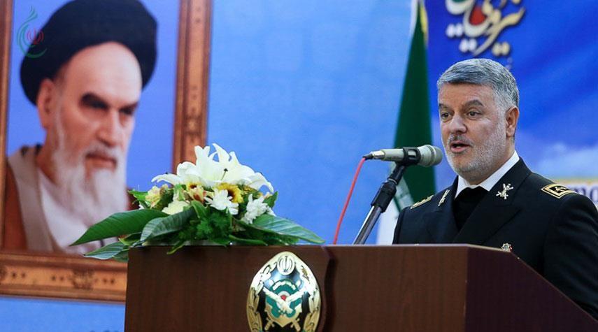 مناورة عسكرية مشتركة بين إيران وروسيا والصين .. الأميرال حسين خانزادي : إيران تمتلك أكبر بارجة لوجستية في الشرق الأوسط