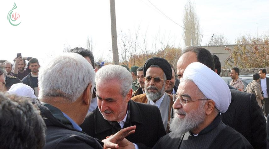 الشيخ حسن روحاني : الحكومة الإيرانية ستقف إلى جانب المتضررين من الزلزال