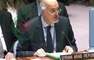 الجعفري : التنظيمات الإرهابية تواصل السيطرة على محافظة إدلب واتخاذ المدنيين فيها دروعاً بشرية