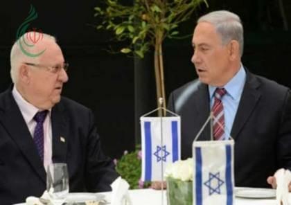 رئيس الكيان الصهيوني يوبخ بنيامين نتنياهو : و نتنياهو يتهم العرب بالإرهاب والعنف وأطلق التصريحات العدائية
