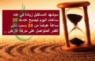 هل تعلم أن لكل ساعة في اليوم لها اسماً باللغة العربية ..؟