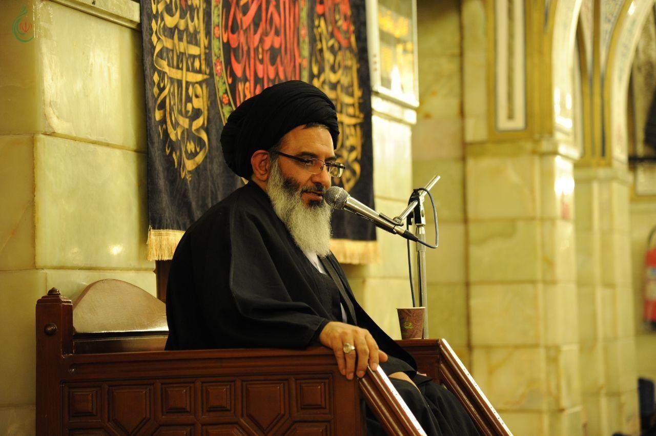 مشاركة ممثل الإمام الخامنئي في سورية إحياء ذكرى شهادة السيدة فاطمة الزهراء (ع) في مقام السيدة رقية (ع)