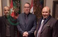 وفد من الجبهة الديمقراطية لتحرير فلسطين يقدم لسفير كوبا بدمشق التهاني النضالية متمنياً للشعب الصديق