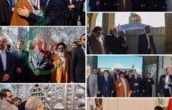 الدكتور علي لاريجاني رئيس مجلس الشورى الإيراني يلتقي ممثل الإمام الخامنئي دام ظله في سورية