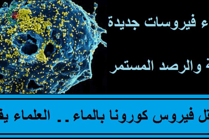 هل ينتقل فيروس كورونا بالماء … العلماء يفسرون