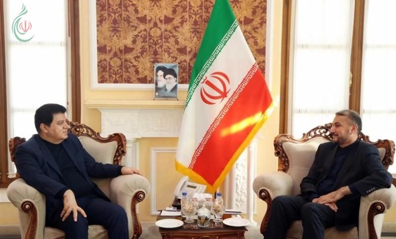 عبد اللهیان لسفير سورية في طهران : الحل السیاسی هو السبیل لتسویة الأزمة السوریة