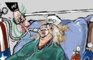 كاريكاتير صحيفة سعودية .. ترامب يقطع شريان الحياة عن منظمة الصحة العالمية