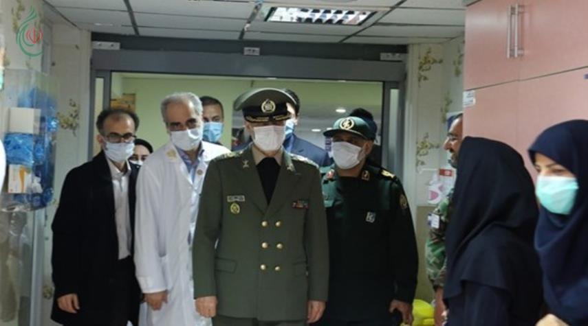 وزير الدفاع الإيراني العميد أمير حاتمي : مكافحة كورونا زادت خبرتنا لمواجهة التهديدات الحديثة