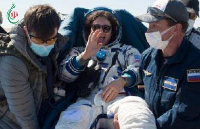 عودة 3 رواد من محطة الفضاء الدولية إلى كوكب الأرض