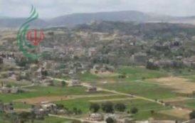 قوات العدو الصهيوني اطلقت قنبلة دخانية في كروم الشراقي مقابل ميس الجبل