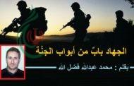 الجهاد بابٌ من أبواب الجنَّة .. بقلم : محمد عبدالله فضل الله