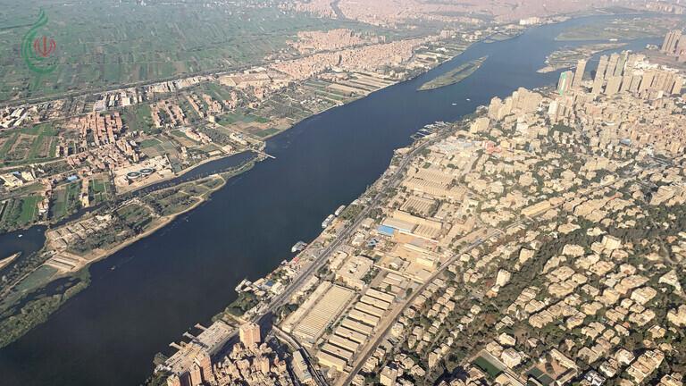 الأقمار الصناعية تكشف عن هطول أمطار غزيرة في مصر