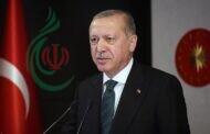 أردوغان : في رسالة بمناسبة