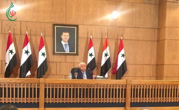 وزير الخارجية السوري : الرئيس بشار الأسد سيبقى طالما الشعب السوري يريده وتحديات