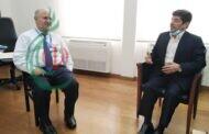 الدكتور عباس خامه يار المستشار الثقافي الإيراني في لبنان يزور جامعة القديس يوسف