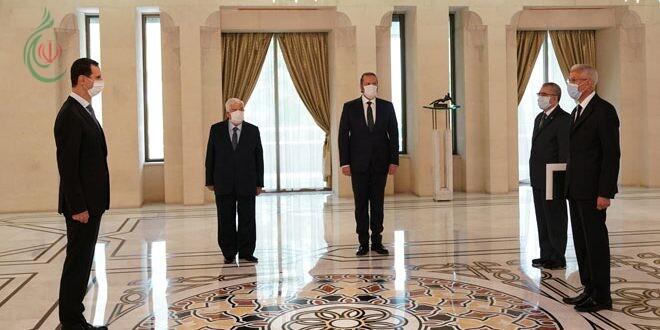 الرئيس الأسد يتقبل أوراق اعتماد سفيري الجزائر وأبخازيا لدى سورية متمنياً لهما النجاح في مهامهما الدبلوماسية