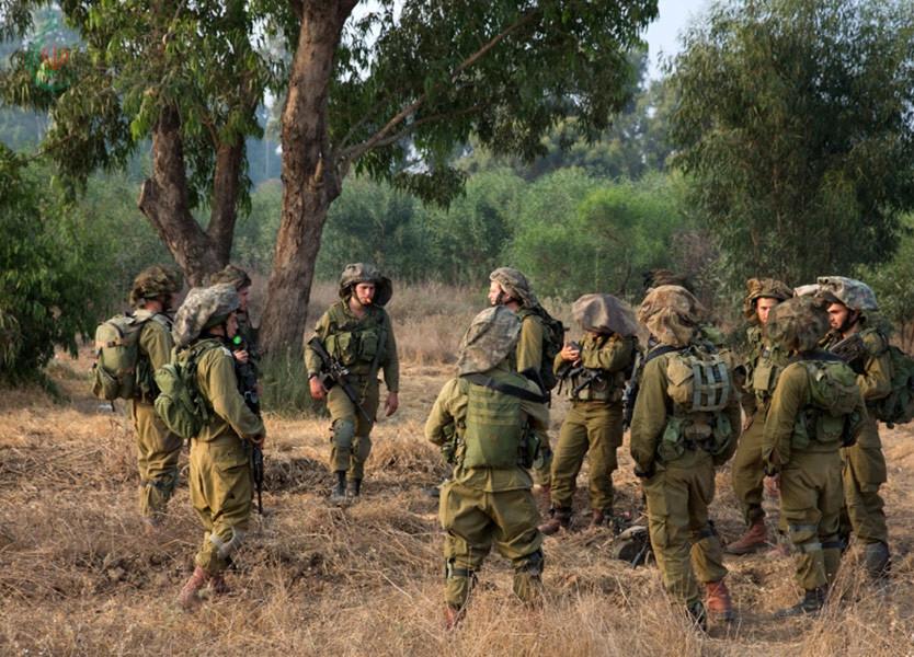 إجراءات إحترازية مكثفة لجيش العدو الإسرائيلي عند الحدود اللبنانية