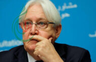 من الرياض : المبعوث الأممي لليمن مارتن غريفيث يعلن عن مسودة إتفاق لوقف إطلاق النار الشامل في اليمن