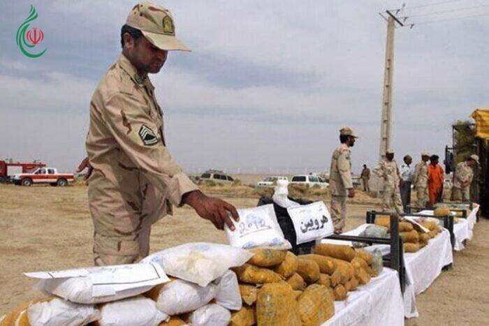 قوى الأمن الداخلي الإيرانية تضبط 300 طن و 331 كيلو غراماً من المخدرات خلال 3 أشهر