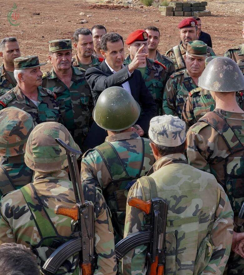 كلمة السيد الرئيس الفريق بشار الأسد إلى القوات المسلحة بمناسبة الذكرى الخامسة والسبعين لتأسيس الجيش العربي السوري