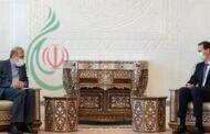 الرئيس بشار الأسد يلتقي علي أصغر خاجي كبير مساعدي وزير الخارجية الإيراني ويبحث آخر مستجدات الأوضاع في سورية وتطورات المسار السياسي