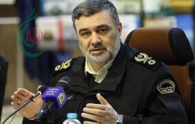 قائد الشرطة الإيرانية العميد حسين اشتري : البلاد يسودها أمن ونظام جيدان للغاية