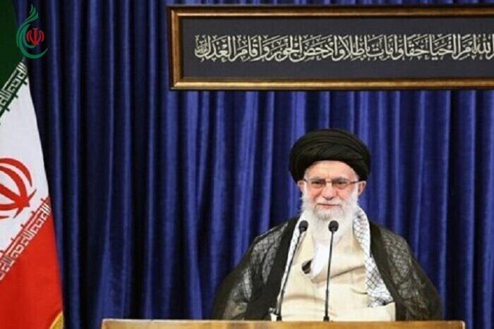 قائد الثورة الاسلامية يحضر مراسم العزاء الحسيني